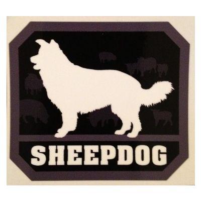 Sheepdog sticker