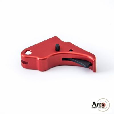 Apex Shield Duty/Carry Action Enhancement Red Trigger and Kit