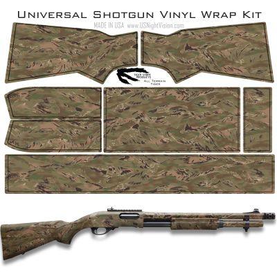 Tiger Stripe Products™ Camo Pre-Cut Universal Shotgun Skin Vinyl Wrap