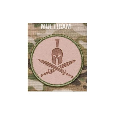 Spartan Helmet Patch