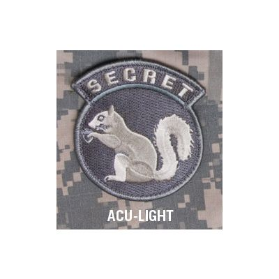 Secret Squirrel Patch