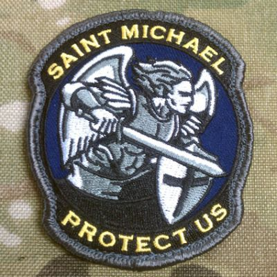 Saint Michael Modern Patch
