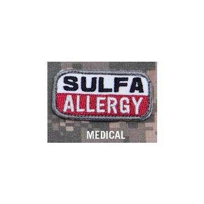 SULFA Allergy Patch