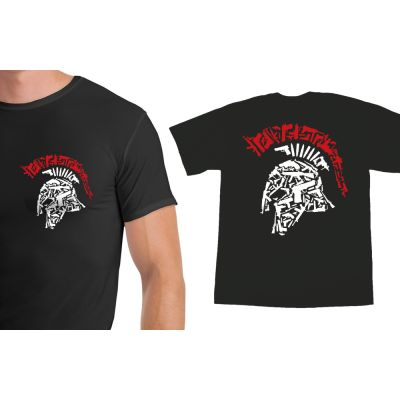 Tactical Shit Spartan Shirt With Logo on the Back