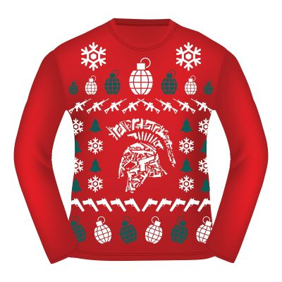 Tactical Shit Ugly Christmas Sweater T-Shirt