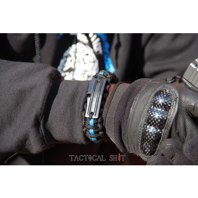 Thin Blue Line Operator Band w/ Tactical Shit Logo
