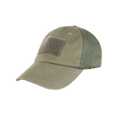 Mesh Tactical Patch Cap