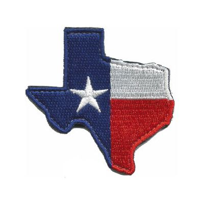 Die-Cut Texas Patch