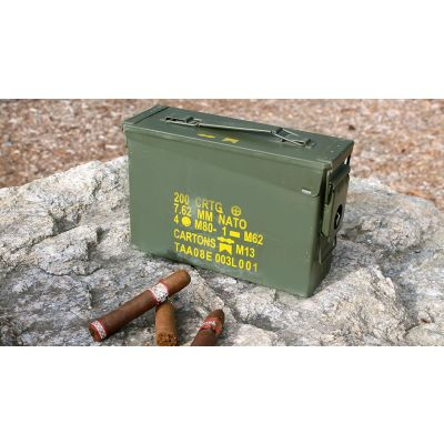 The 30 Ammo Can Humidor by Ammodor