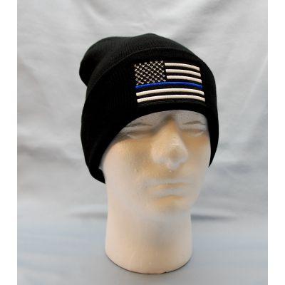 Thin Blue Line Beanie / Watch Cap