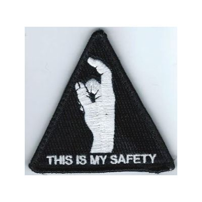 THIS IS MY SAFETY MORALE PATCH W/ VELCRO