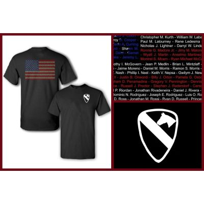 1st CAV Division Tribute T-Shirt
