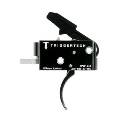 Triggertech Competitive AR Primary Trigger PVD Black Curved