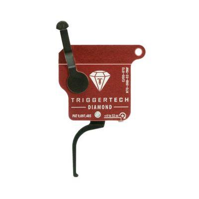 Triggertech Rem 700 Diamond Trigger Flat Straight Right Hand w/o bolt release