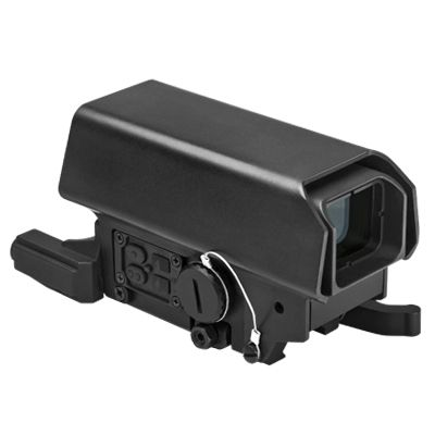 Urban Dot Sight With Green Laser And White & Red  Navigation Led Lights/ Cross Grid Reticle/ Black