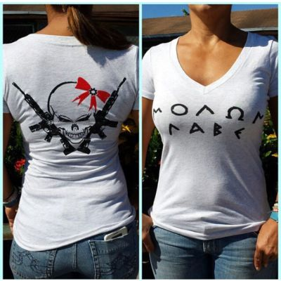 MOLON LABE LADIES V-NECK