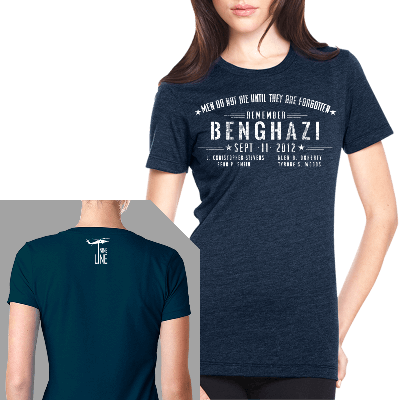 Nine Line Apparel Womens Benghazi Tshirt