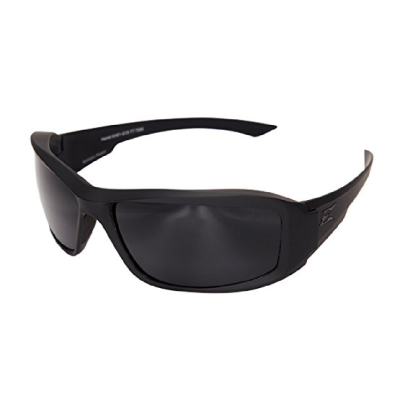 Edge Eyewear Hamel Thin Temple – Soft-Touch Matte Black Frame / G-15 Vapor Shield Lens