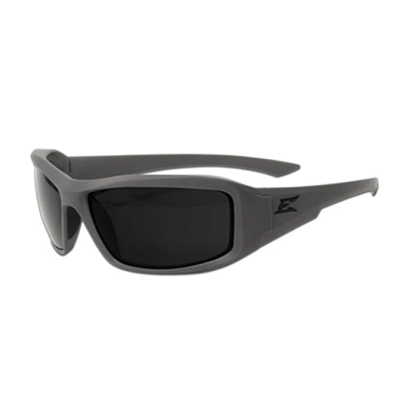 Edge Eyewear Hamel Gray Wolf Thin Temple – Soft-Touch Gray Frame / G-15 Vapor Shield Lens