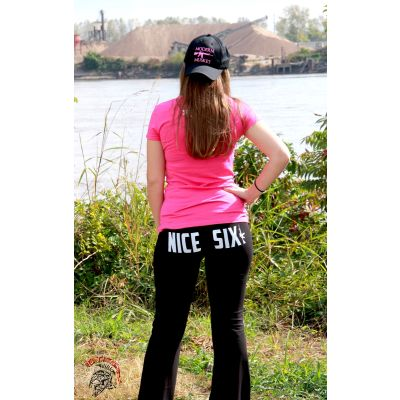 "Tactical Shit ""Nice Six"" Yoga Pants"