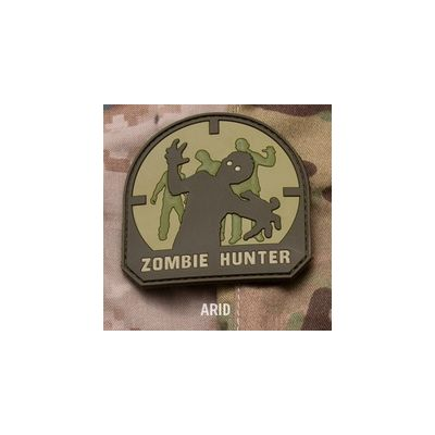 Zombie Hunter PVC Patch